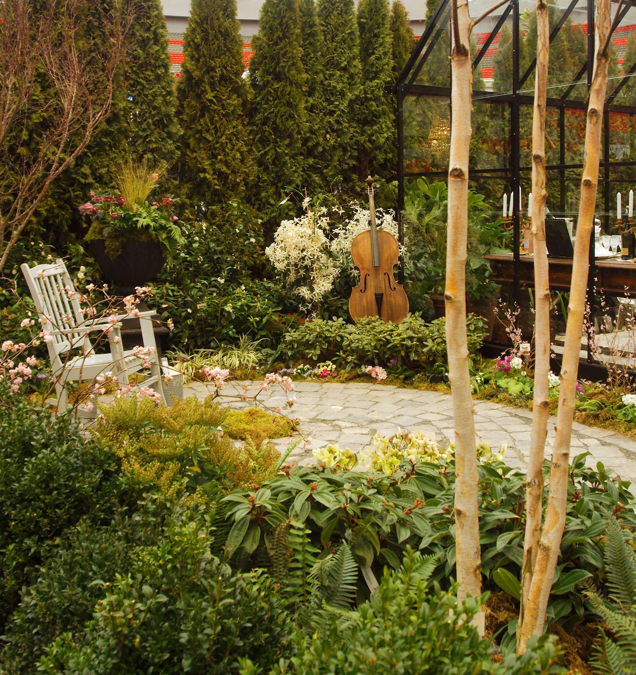 The Conservatory Garden — Flourish Garden Design